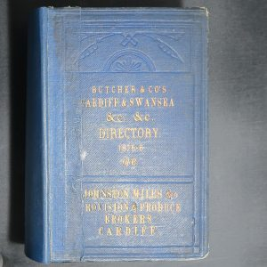 Directory Cardiff & Swansea Butcher & Co. 1875-6, 2 bound together