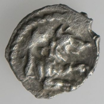 Ancient Greece, Cilicia, Tarsos, 3/4 obol Baal seated rev foreparts of wolf silver coin