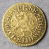 MB100078, 17th century token, London 3215, Tower Street, T M at the White Lion 1/4d